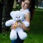 Мишка Рафаэль белый 50 см — Coolbear