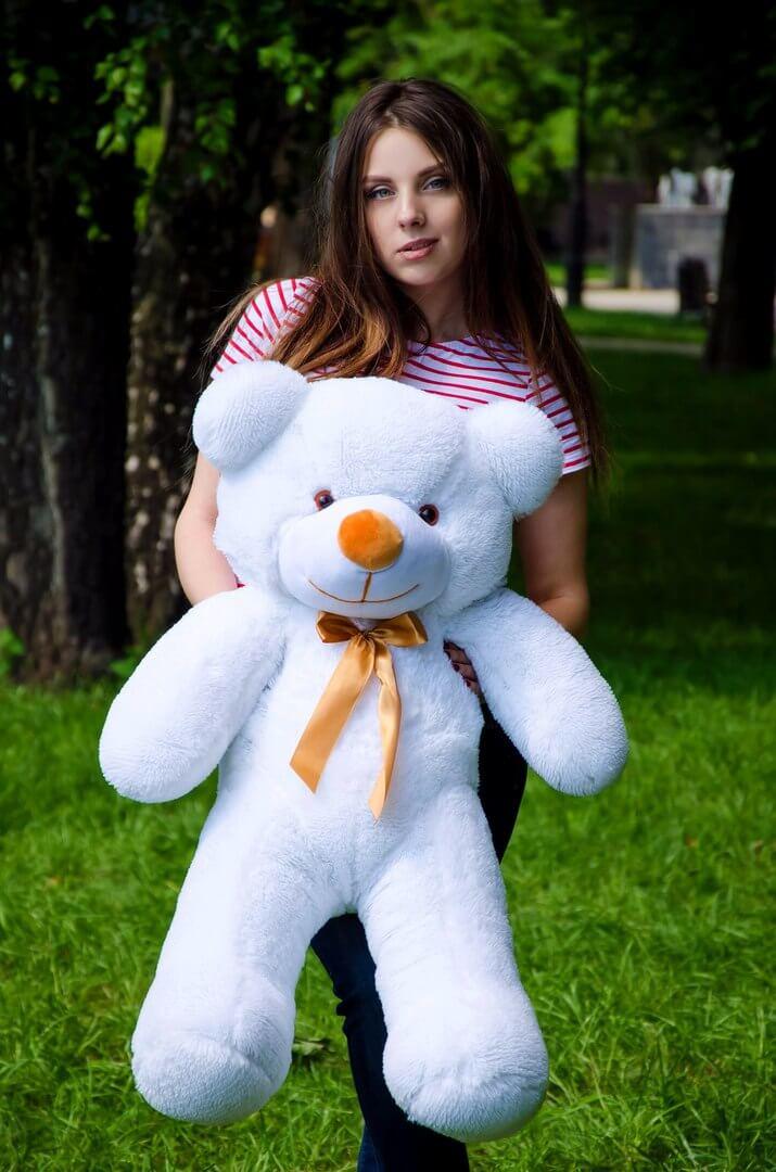 Медведь Рафаэль 100 см Белый