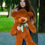 Медведь Рафаэль 100 см Коричневый