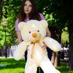 Медведь Рафаэль 100 см Персик — Coolbear