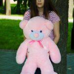 Медведь Рафаэль 100 см Розовый — Coolbear
