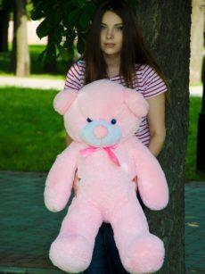 Медведь Рафаэль 100 см Розовый