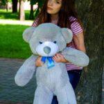 Медведь Рафаэль 100 см Серый