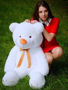 Медведь Рафаэль 120 см Белый