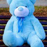 Медведь Рафаэль 120 см Голубой — Coolbear