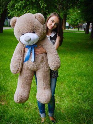Медведь Рафаэль 120 см Капучино