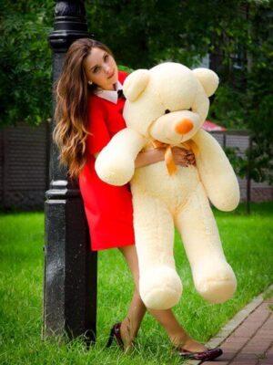 Медведь Рафаэль 120 см Персик