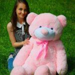 Медведь Рафаэль 120 см Розовый — Coolbear