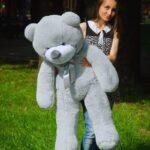 Медведь Рафаэль 120 см Серый