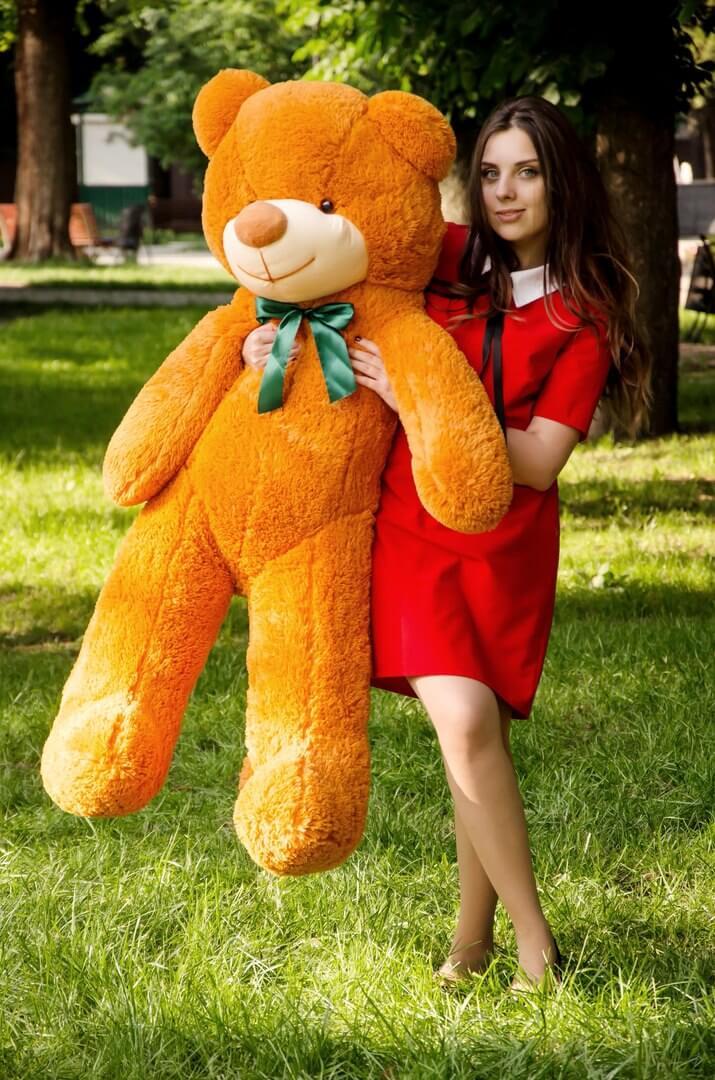 Медведь Рафаэль 140 см Карамельный