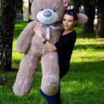 Медведь Рафаэль 140 см Капучино — Coolbear