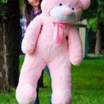 Медведь Рафаэль 140 см Розовый