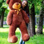 Медведь Рафаэль 140 см Шоколадный
