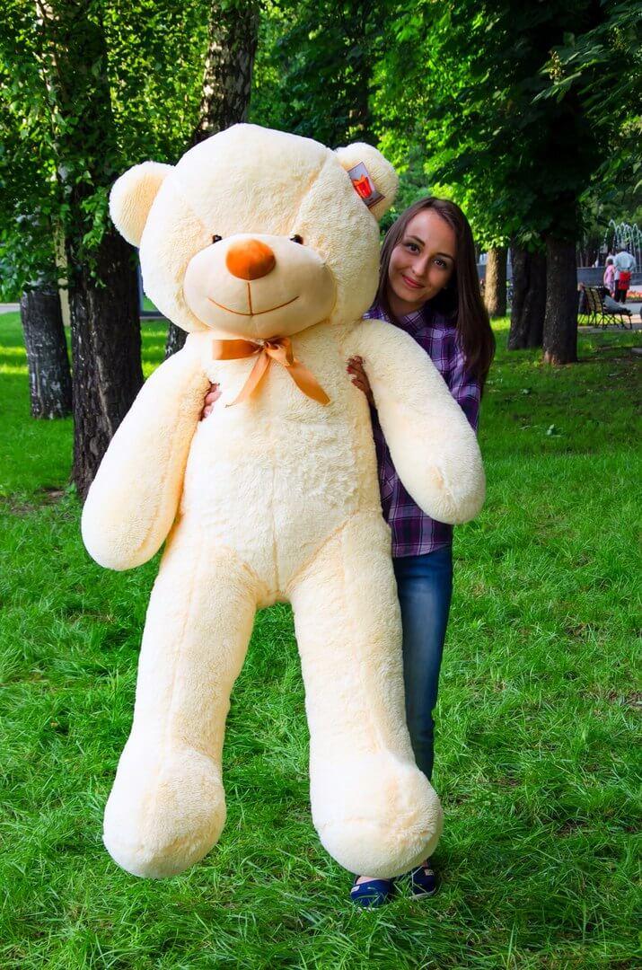 Медведь Рафаэль 160 см Персик
