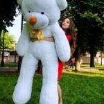 Медведь Рафаэль 200 см Белый