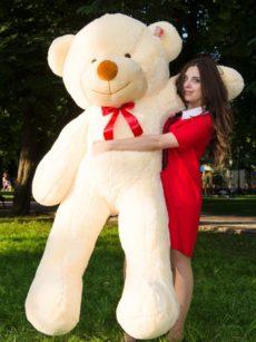 Медведь Рафаэль 200 см Персик