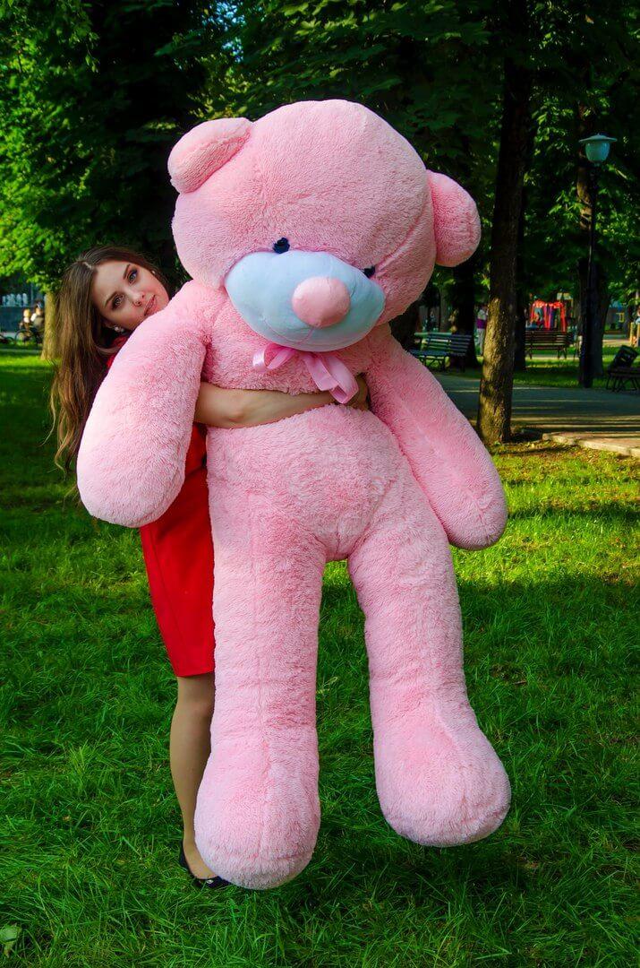 Медведь Рафаэль 200 см Розовый
