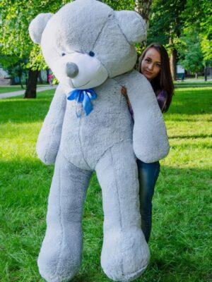 Медведь Рафаэль 200 см Серый