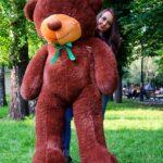 Медведь Рафаэль 200 см Шоколадный