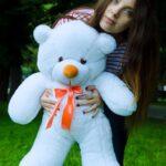 Медведь Рафаэль 80 см Белый — Coolbear