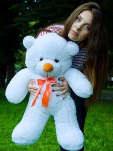 Медведь Рафаэль 80 см Белый