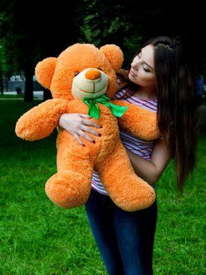 Медведь Рафаэль карамельный 80 см