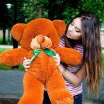 Медведь Рафаэль 80 см Коричневый — Coolbear