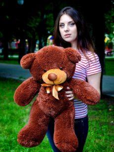 Медведь Рафаэль 80 см Шоколадный