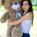 Медведь Бант 110 см Капучино