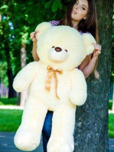 Медведь Бант 110 см Персик