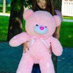Медведь Бант 110 см Розовый
