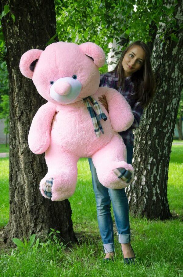 Медведь Барни 120 см Розовый