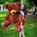 Медведь Барни 120 см Шоколадный — Coolbear
