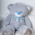 Медведь Бойд 200 см Серый — Coolbear