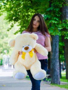 Медведь Бойд 100 см Абрикос