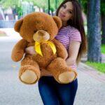 Медведь Бойд 100 см Коричневый — Coolbear