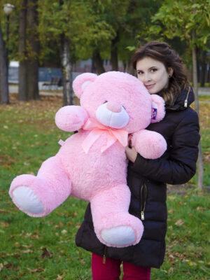 Медведь Бойд 100 см Розовый