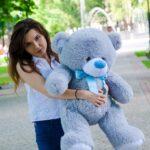 Медведь Бойд 100 см Серый — Coolbear