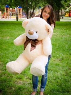 Медведь Бойд 125 см Абрикос