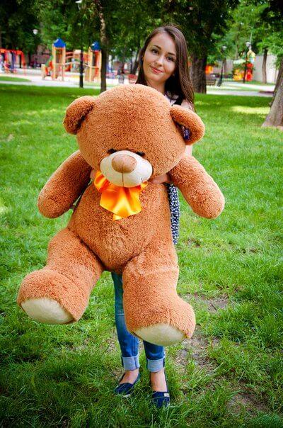 Медведь Бойд 125 см Коричневый