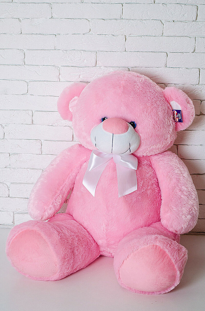 Медведь Бойд 125 см Розовый