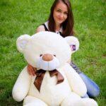 Медведь Бойд 125 см Шампань — Coolbear