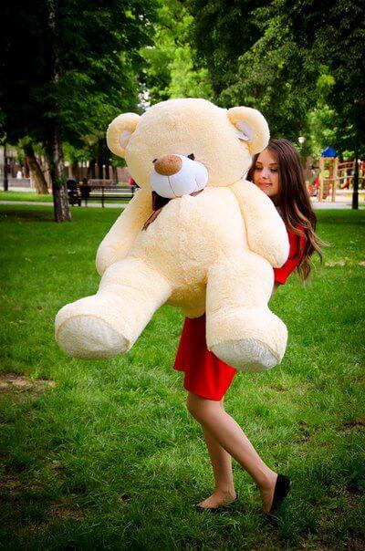 Медведь Бойд 160 см Абрикос