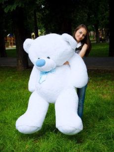 Медведь Бойд 200 см Белый