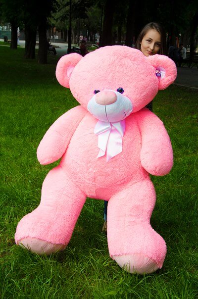 Медведь Бойд 200 см Розовый