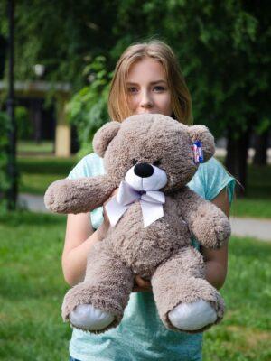 Медведь Бойд 70 см Капучино