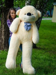 Медведь Нестор 160 см Абрикосовый