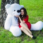 Медведь Нестор 160 см Белый