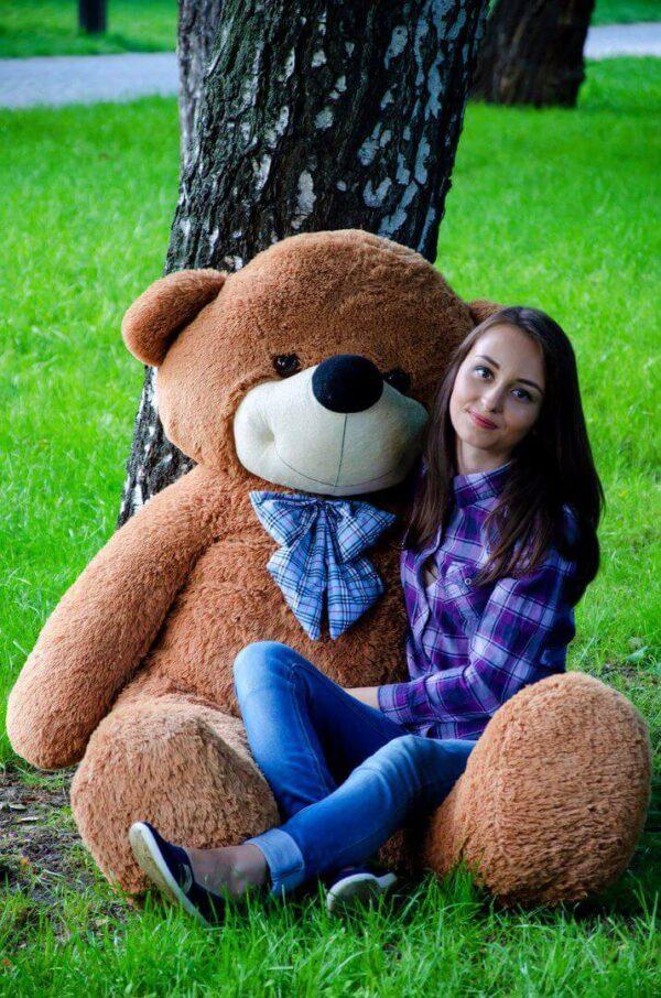 Медведь Нестор 160 см Коричневый