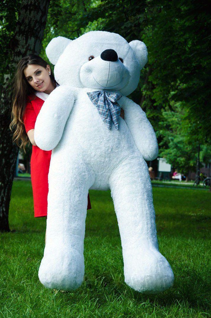 Медведь Нестор 200 см Белый
